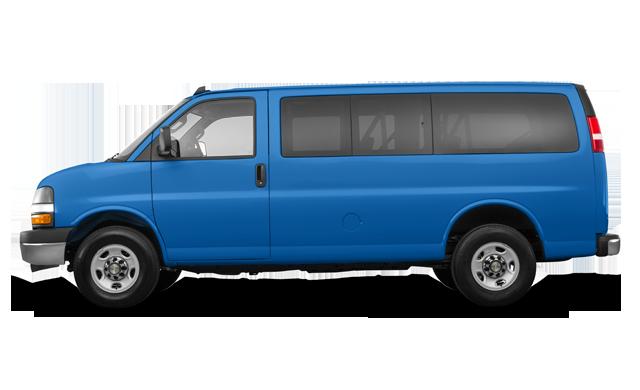 Chevrolet Express 3500 PASSENGER LT 2018