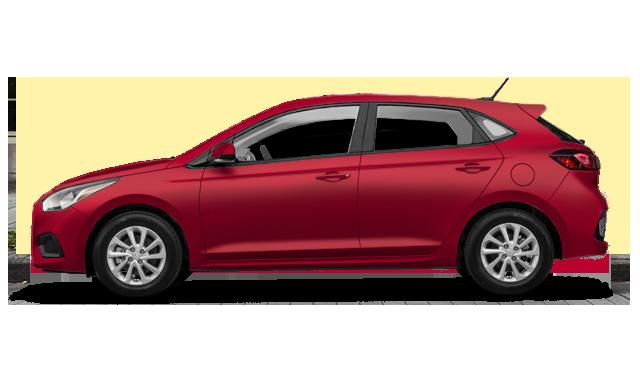 Hyundai Accent 5 doors GL 2018