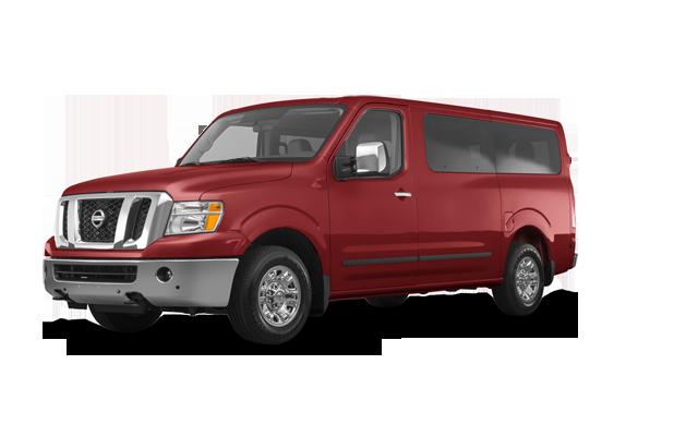 2018 Nissan NV Passenger SL - from $51,793 | McDonald Nissan