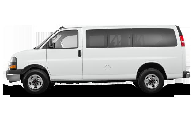 2019 GMC Savana 2500 PASSENGER LT