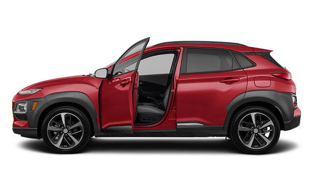 2019 Hyundai Kona ULTIMATE Black with Red Trim - from ...