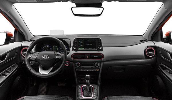 4 Cylinder Suv >> 2019 Hyundai Kona ULTIMATE Black with Red Trim - from $33,738 | Sudbury Hyundai