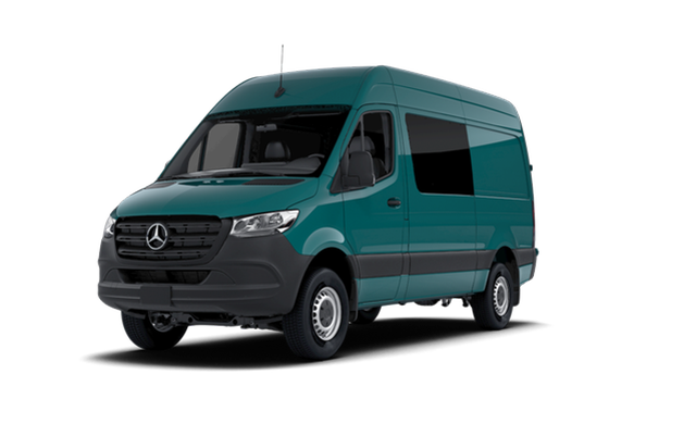 Mercedes Benz Quebec >> 2019 Mercedes-Benz Sprinter 4x4 Crew Van 2500 - Starting ...