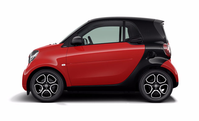 Smart Car Lease >> 2019 smart fortwo coupe EQ - Starting at $17,338 ...