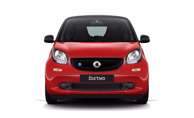 smart fortwo coupe EQ 2019 - 1