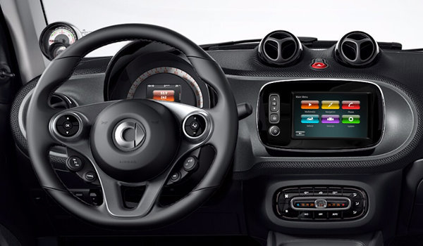 2019 smart fortwo coupe EQ