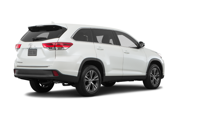 Boulevard Toyota | The 2019 Highlander LE V6 FWD in Quebec