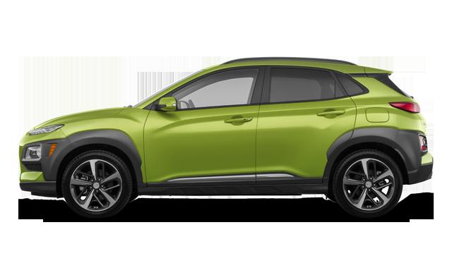 Hyundai Kona ULTIMATE Black with Lime Trim 2020
