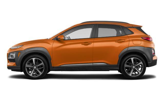 Hyundai Kona ULTIMATE Black with Orange Trim 2020