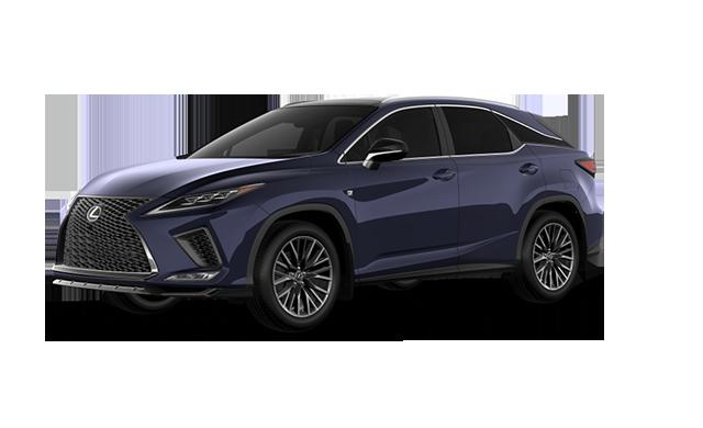 sentes automotive  the 2020 lexus rx 350 f sport in the