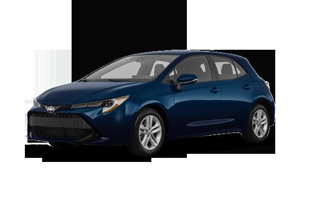 Gander Toyota The 2020 Corolla Hatchback Se