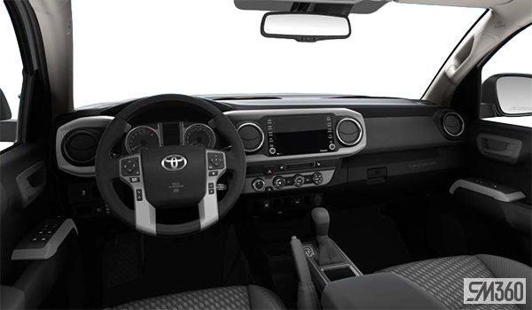 tacoma toyota cab 2021 4x4 6a double access sb trd interior grey exterior whitby brook corner pickup tableau fabric company