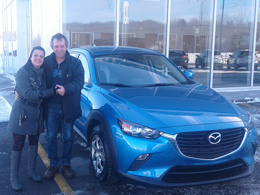 Toute nouvelle Mazda!