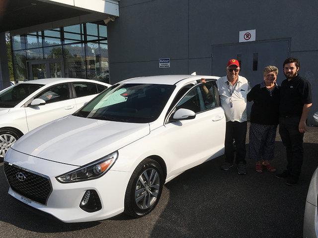 La première Hyundai Elantra GT 2018 à Shawinigan!