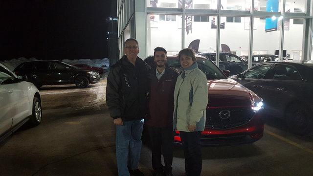 Notre première Mazda
