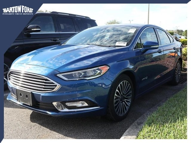 Ford Fusion Hybrid For Sale >> Used 2017 Ford Fusion Hybrid For Sale 16333 Bartow Ford