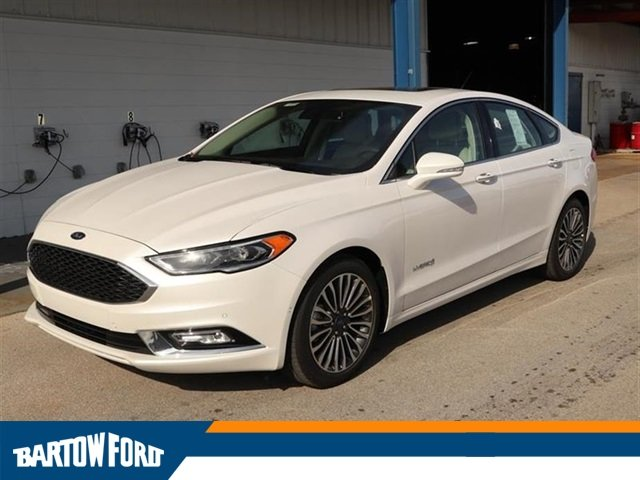New 2018 Ford Fusion Hybrid Platinum For Sale 34745 Bartow Ford
