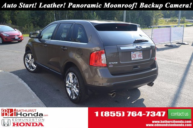 Backup Camera  C B  Ford Edge Limited Awd Auto Start Leather Panoramic Moonroof