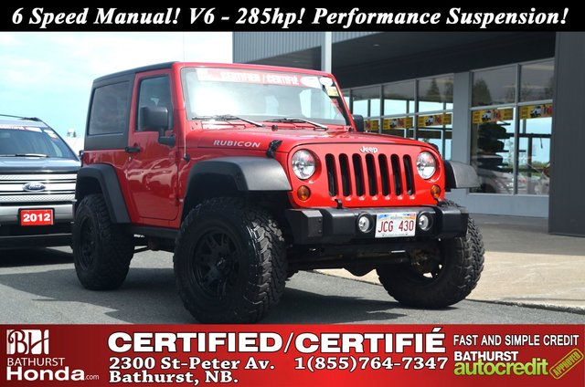2012 jeep wrangler rubicon manual