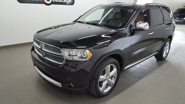 dodge durango 2012 d 39 occasion vendre chez occasion beaucage sherbrooke. Black Bedroom Furniture Sets. Home Design Ideas