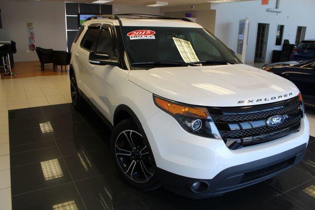 2015 Ford Explorer Sport Leather Interior 4wd Navigation Used
