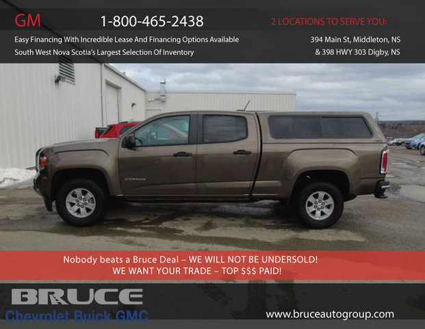 2015 Gmc Canyon Lwb 3 6l 6 Cyl Automatic Bed Cap Crew Cab 2 99 For