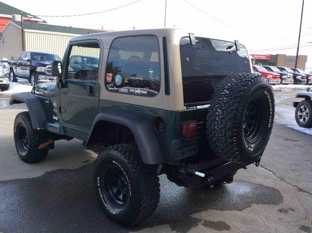 jeep tj 1999 d 39 occasion vendre chez armand automobiles ltee. Black Bedroom Furniture Sets. Home Design Ideas
