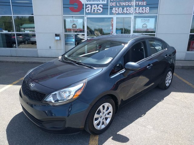 kia rio 2015 d 39 occasion vendre chez kia des laurentides. Black Bedroom Furniture Sets. Home Design Ideas