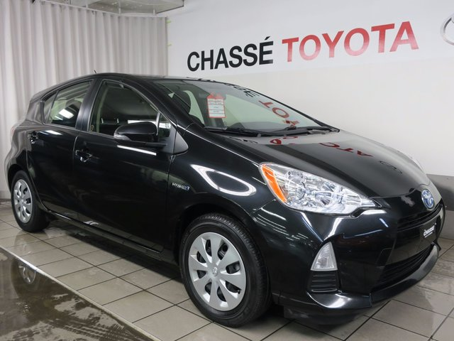 toyota prius c 2014 d 39 occasion vendre chez chasse toyota. Black Bedroom Furniture Sets. Home Design Ideas