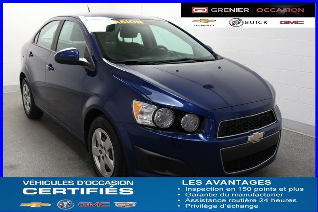 2013 Chevrolet Sonic Ls Air Climatis Used For Sale In Terrebonne
