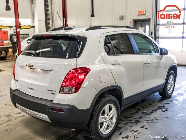 chevrolet trax 2015 d 39 occasion vendre chez lallier kia de laval. Black Bedroom Furniture Sets. Home Design Ideas