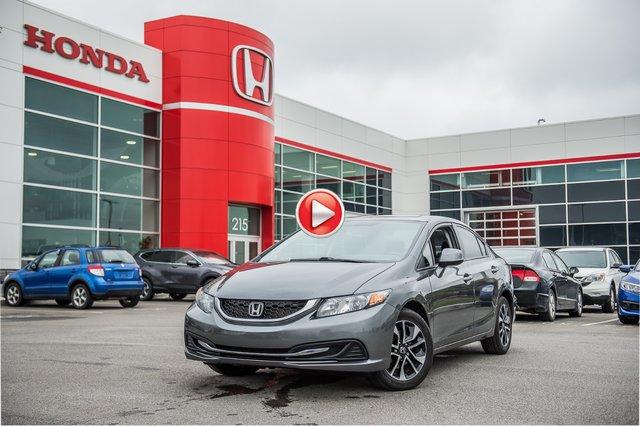 Honda CIVIC  EX GARANTIE 10 ANS/200,000 KILOMETRES* 2013