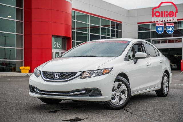 Honda CIVIC SDN LX GARANTIE 10ANS/200,000 KILOMETRES* 2015