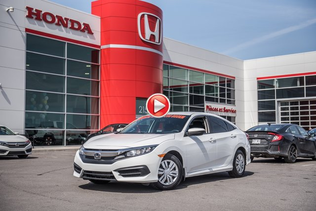 Honda CIVIC SDN LX LX/10 ANS /200,000 DE GARANTIE * 2016