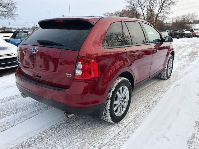 Ford Edge Nav Camera Panoramic Winter Tires On Rims