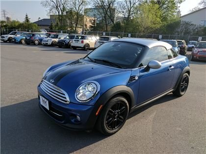 2014 Mini Cooper Coupé Harman Kardon Sound Premium Package Keyless