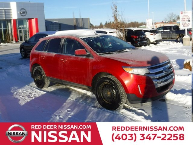 Ford Edge Limited Heated Leather Moonroof Awd Navigation
