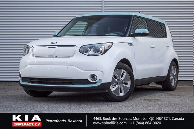 kia soul ev 2018 d 39 occasion vendre chez spinelli kia. Black Bedroom Furniture Sets. Home Design Ideas