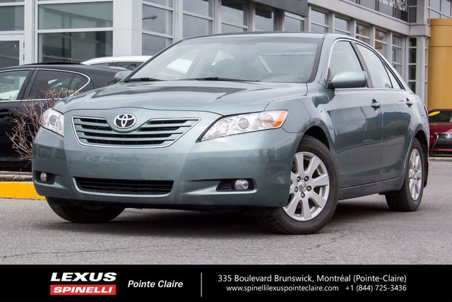 toyota camry 2009 d 39 occasion vendre chez spinelli lexus pointe claire. Black Bedroom Furniture Sets. Home Design Ideas