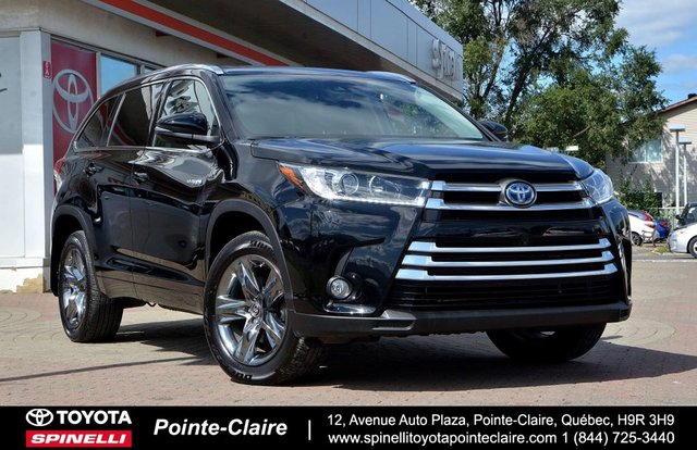 Toyota Pointe Claire >> Pre Owned 2017 Toyota Highlander Hybrid For Sale At Spinelli