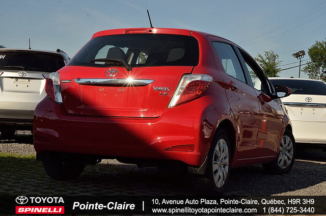 toyota yaris 2014 d 39 occasion vendre chez spinelli toyota pointe claire. Black Bedroom Furniture Sets. Home Design Ideas