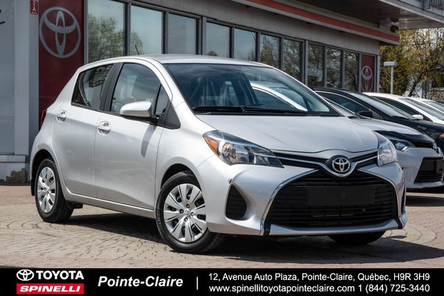 Toyota Pointe Claire >> Pre Owned 2015 Toyota Yaris For Sale At Spinelli Toyota Pointe Claire