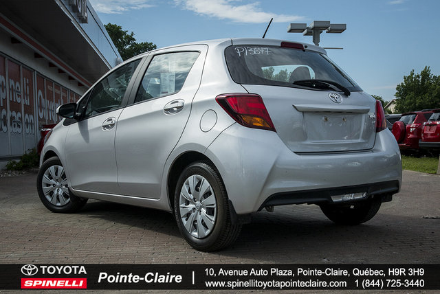 toyota yaris 2016 d 39 occasion vendre chez spinelli toyota pointe claire. Black Bedroom Furniture Sets. Home Design Ideas