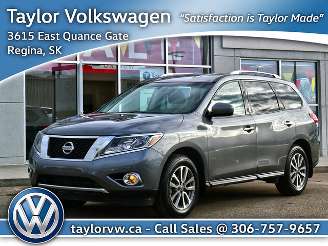 Used 2015 Nissan Pathfinder SV V6 4x4 at This Pathfinder is