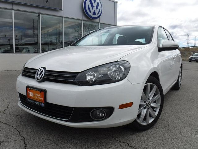 2013 Volkswagen Golf 5-Dr TDI Highline at Tip