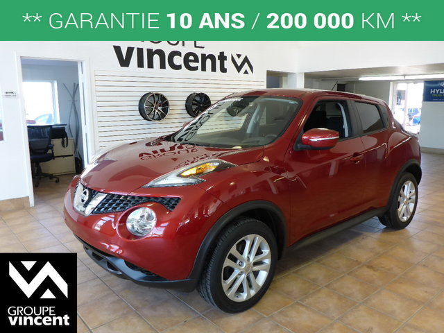 nissan juke 2015 d 39 occasion vendre chez groupe vincent. Black Bedroom Furniture Sets. Home Design Ideas