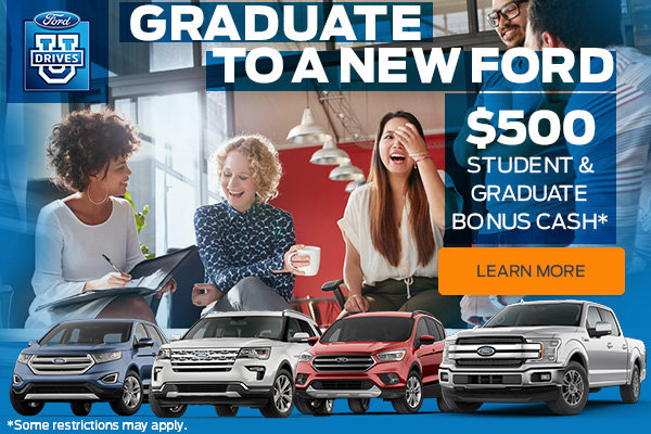 Graduate to a new ford (mobile)