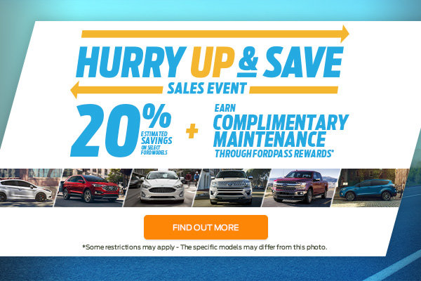 Hurry Up & Save Sales Event (mobile)