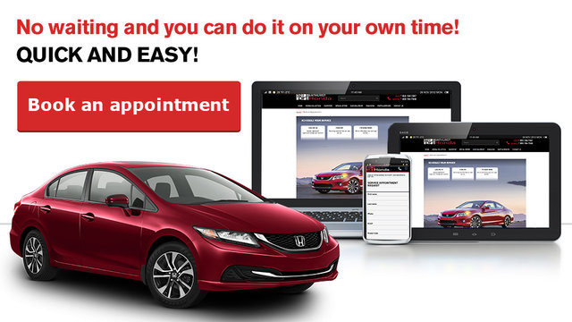 book an appointment (mobile)