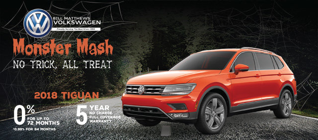 Tiguan Monster Mash - No Trick, All Treat Sales Event (Copy) (Copy)